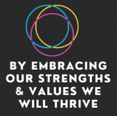 By Embracing Our Strengths & Values We Will Thrive